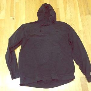 LaCoste sz XL cotton black hoody; comfort & style